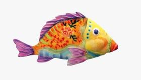 颜色鱼 库存照片