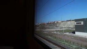 颜色,旅行的火车,安卡拉市,火鸡 影视素材