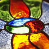 颜色玻璃 免版税库存照片