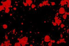 颜色grunge油漆向量 免版税图库摄影