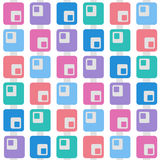颜色patern正方形 库存图片