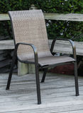 颤抖的轻便折叠躺椅 图库摄影