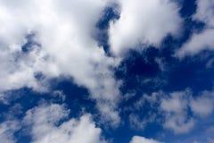 暴风云和蓝天 库存图片