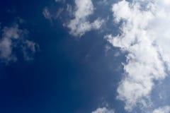 暴风云和蓝天 库存照片