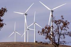 风力发电机方式 免版税库存图片