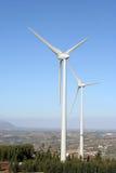 风力发电机 免版税图库摄影