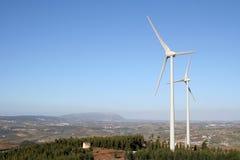 风力发电机 图库摄影