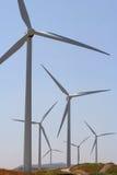 风力发电机 免版税库存照片
