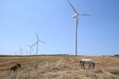 风力发电机 免版税库存图片