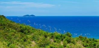 风力工厂酸值larn 图库摄影