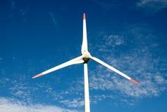 风力植物 免版税库存照片
