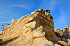 风化花岗岩,福建,中国 免版税库存图片