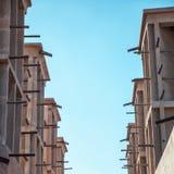 风塔在迪拜 库存照片