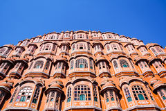 风宫殿,斋浦尔,拉贾斯坦,印度 免版税图库摄影