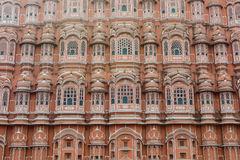 风宫殿细节在斋浦尔,印度 库存照片