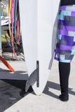 风帆冲浪委员会和冲浪者女孩 库存图片