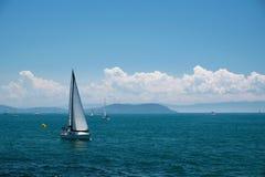 风帆和王子Islands 免版税库存照片
