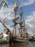 风帆在代尔夫宰尔 库存图片