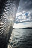 风帆帆布和帆柱 免版税库存图片