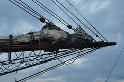 风帆的技巧 免版税库存照片