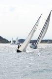 风帆竞争 免版税库存照片