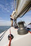 风帆设置 免版税图库摄影