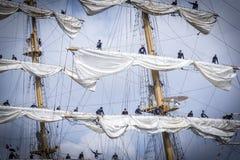 风帆阿姆斯特丹2015年 图库摄影