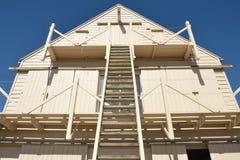 风帆顶楼眺望从前方 免版税库存照片