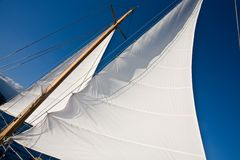 风帆 免版税图库摄影