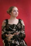 风扇夫人年轻人 图库摄影