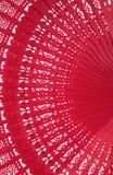 风扇红色木 库存照片