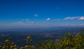 风景从奇迹视图监视的普马兰加省南非 免版税库存照片