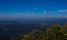 风景从奇迹视图监视的普马兰加省南非 免版税库存图片