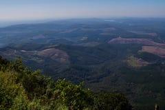 风景从奇迹视图监视的普马兰加省南非 库存照片