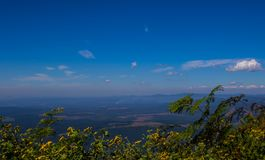 风景从奇迹视图监视的普马兰加省南非 库存图片