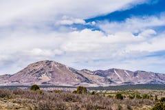 风景俯视的峰顶和abajo高峰山 免版税图库摄影