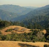 风景加利福尼亚的山 免版税库存图片
