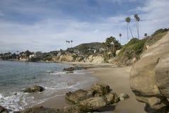 风景加利福尼亚的海岸 库存图片