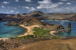 风景加拉帕戈斯的外型 库存图片