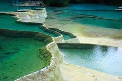 风景区的huanglong 库存照片