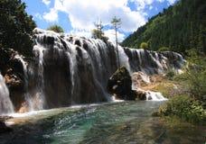 风景区的jiuzhaigou 库存图片