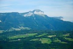 风景和montains 免版税库存图片
