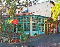 风景咖啡馆 库存照片