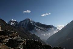 风景喜马拉雅的山 免版税图库摄影