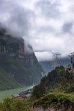 风景在乌江峡谷 库存照片