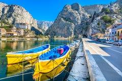 风景在克罗地亚,欧洲 免版税库存图片