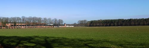 风景在富兰德,比利时 免版税图库摄影