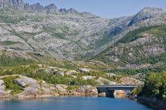 风景在挪威 免版税库存照片