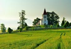 风景在斯洛伐克的区域Turiec 图库摄影