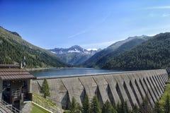 风景在特伦托自治省意大利 免版税库存照片